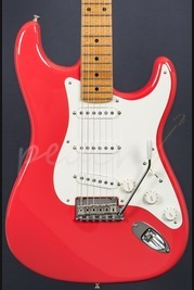 Fender Custom Shop 59 Anniversary NOS Strat Fiesta Red Maple Neck