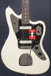 Fender American Pro Jaguar Rosewood Olympic White