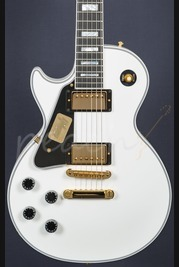 Gibson Les Paul Custom Alpine White Left Handed