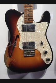 Fender Custom Shop 72 Tele Thinline Heavy Relic Dale Wilson Masterbuilt
