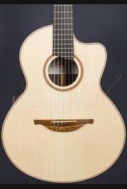 Lowden S-32J Alpine Spruce/AAAA East Indian Rosewood Nylon String