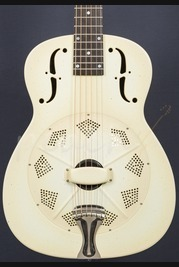 National NRP 14 Fret Aged Ivory