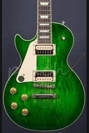 Gibson USA Les Paul Classic T 2017 Left Handed - Green Ocean Burst