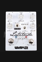 Wampler Latitude Deluxe Tremolo Pedal Latest Version