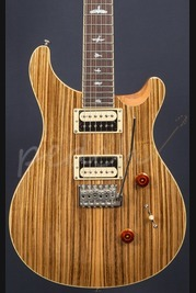 PRS SE 2017 Custom 24 Zebrawood Limited Edition