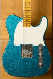 Fender Custom Shop '55 Relic Esquire Aged Blue Sparkle