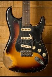 Fender Custom Shop John Cruz Masterbuilt '59 Strat Ultra Relic 3 Tone Sunburst