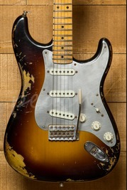 Fender Custom Shop Ltd El Diablo Strat Wide Fade 2 Colour Sunburst NAMM Guitar