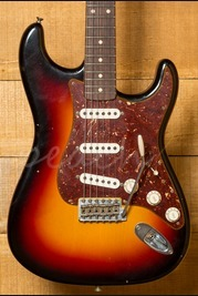 Fender Custom Shop 62 Strat Journeyman Relic Limited Wide 3 Tone Sunburst