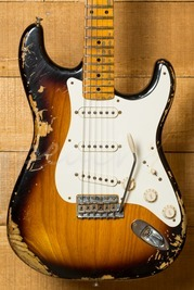 Fender Custom Shop 56 Strat Heavy Relic 2 Tone Sunburst
