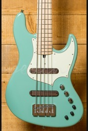 Xotic XJ-1T Lightweight 5-string Bass Surf Green Maple Neck