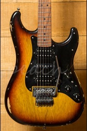 LSL Guitars XTF 3 Tone Burst Korina Body with Roasted Maple neck