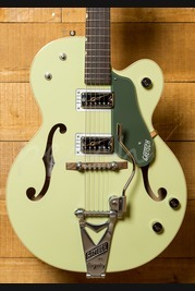 Gretsch G6118T-60GE Anniversary Bigsby Two Tone Smoke Green Used
