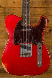 Fender Custom Shop 2017 Limited NAMM '63 Tele Relic Candy Apple Red
