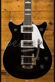 Gretsch G5445T Electromatic Double Jet Black with Bigsby