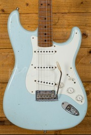 Fender Custom Shop 59 Journeyman Anniversary Sonic Blue Maple Neck