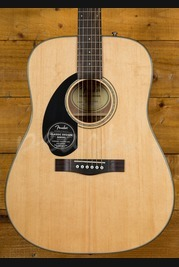 Fender CD-60S Natural Left Handed