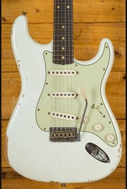 Fender Custom Shop 1960 Strat Relic Olympic White