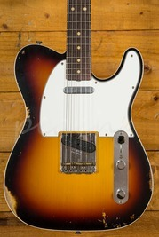 Fender Custom Shop 60 Tele Custom Relic 3 Tone Burst