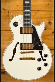 Gibson Memphis ES-Les Paul Alex Lifeson White