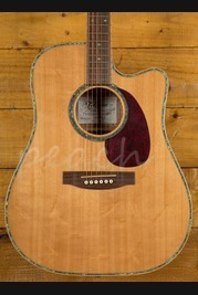 Takamine EG340DLX Dreadnought Natural Gloss Bearclaw Spruce