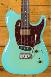 Godin Session Custom 59 Limited Coral Blue HG RN w/Bag