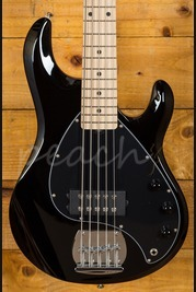 Music Man Sterling Ray 5 String Bass - Black