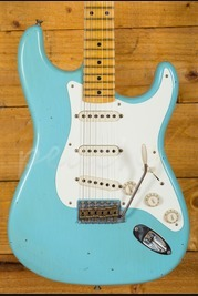Fender Custom Shop 57 Strat Journeyman Relic Daphne Blue