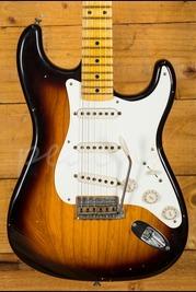 Fender Custom Shop 57 Strat Journeyman Relic 2 Tone Sunburst