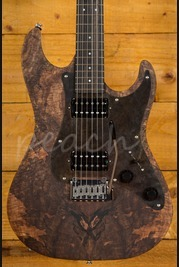 Patrick James Eggle '96 with Spalted Maple Top and Ebony Neck