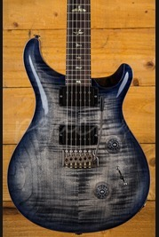 PRS Custom 24 Wood Library Charcoal Purpleburst