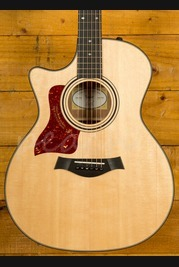 Taylor 314ce Peach Limited Edition Tasmanian Blackwood Lefty