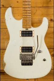Friedman Cali Guitar Vintage White Ash with Birdseye Maple Fretboard