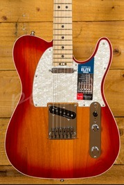 Fender American Elite Telecaster Maple - Aged Cherry Burst
