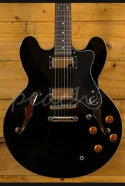 Epiphone Dot 335 Ebony Chrome Hardware