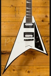Jackson JS32T Rhoads White with Black Bevels