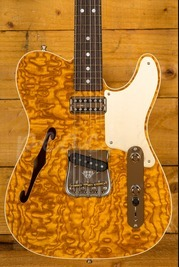 Fender Custom Shop Artisan Tele - Caballo Tono Ligero - Roasted Ash With Tamo Ash Top