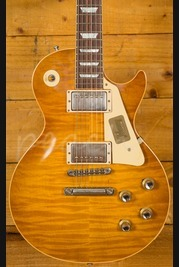 Gibson Custom Les Paul Standard Figured Dirty Lemonburst VOS Slim Neck