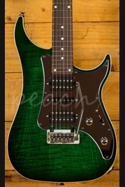 Vigier Excalibur Special HSH Mysterious Green Mirror Pickguard