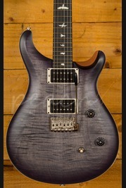 PRS CE24 Satin LTD Faded Grey Purpleburst Nat Back Ebony Board