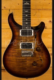 PRS Custom 24 Black Goldburst 10 Top Ebony Board
