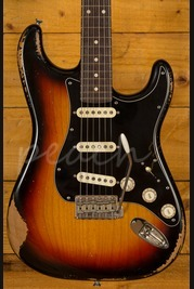 Xotic California Classic XSC-1 3 Tone Sunburst Heavy Aged