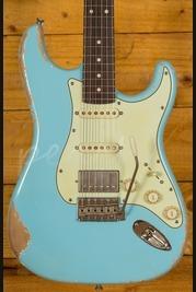 Xotic California Classic XSC-2 Sonic Blue Heavy Aged