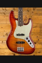 Fender 2017 Ltd American Pro Jazz Bass FMT Aged Cherry Burst