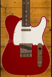 Fender Custom Shop '62 Tele Custom Journeyman Relic Dakota Red