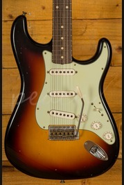 Fender Custom Shop 60 Strat Journeyman Relic Faded 3 Tone Sunburst