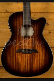 Alvarez AF66ce-SHB Electro Acoustic Guitar Used