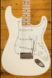 Fender Mex Standard Strat Arctic White Maple Used
