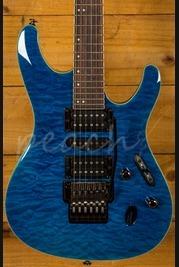 Ibanez S6570Q-NBL Natural Blue