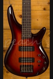 Ibanez SR375E-AWB 5 String Bass Aged Whiskey Burst